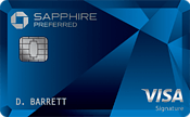 Chase Sapphire Preferred Credit Card best alternative to The Military Star Card!
