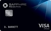 Best Credit Cards for Military: Chase Sapphire Reserve Image