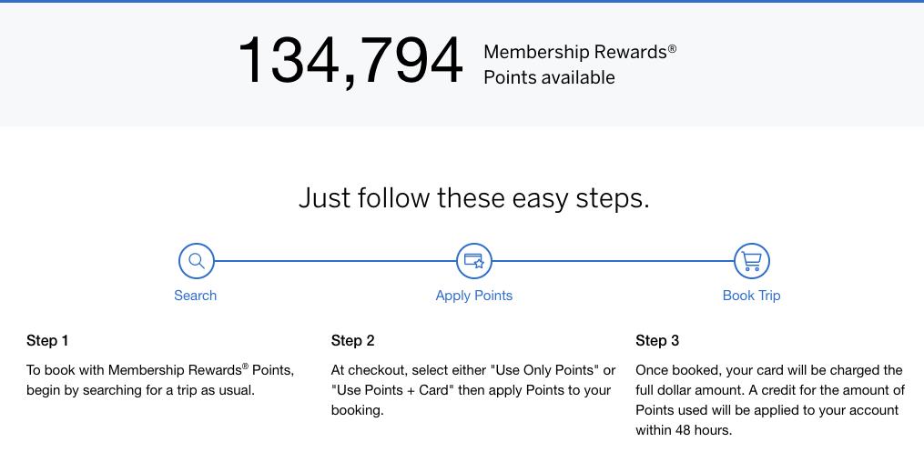 American Express Platinum Points Image