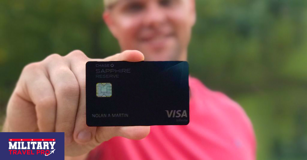 Chase Sapphire Reserve Military Reward Travel Image