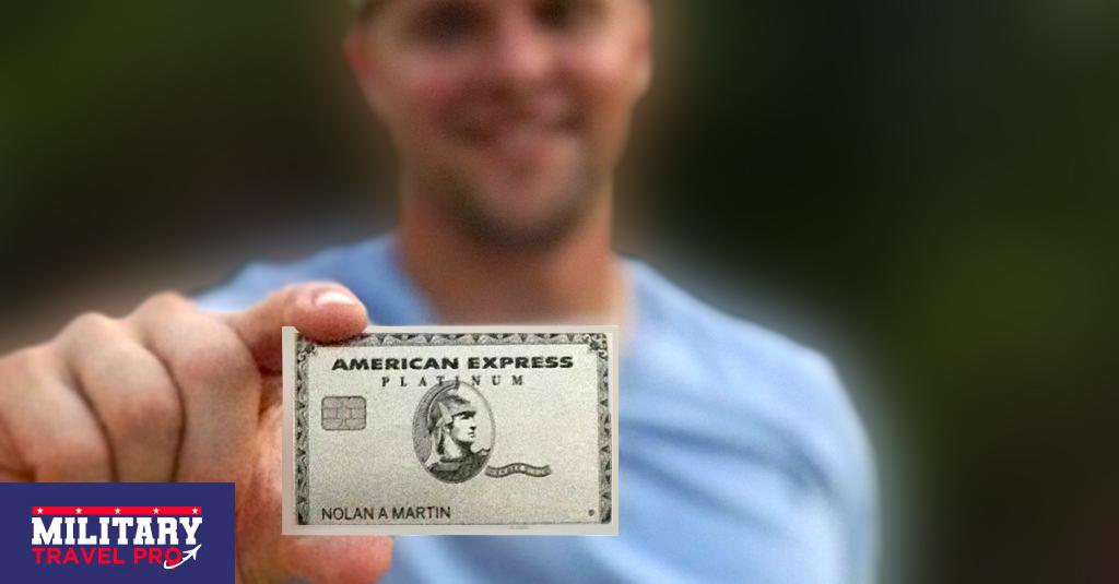 American Express Platinum Military Reward Travel Image